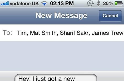 Apple patents that moment when you text-bomb everyone with your new number