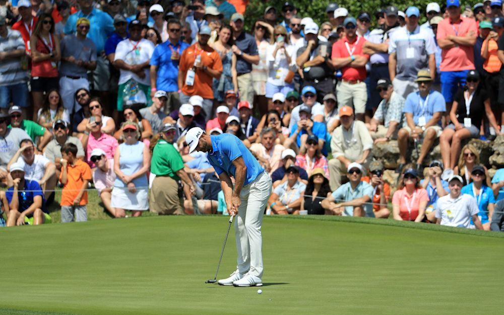 Dustin Johnson is in good touch ahead of the Masters - Getty Images North America