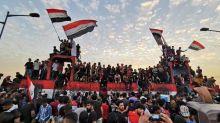 Irak: un an après la révolte d'octobre, nouvelle manifestation place Tahrir à Bagdad
