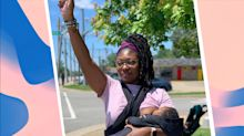 Mom photographed breastfeeding at George Floyd protest says image has given her a bigger platform to 'advocate for police reform'