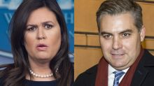 Sarah Sanders mocks Jim Acosta after CNN reporter doesn't get called on by President Trump