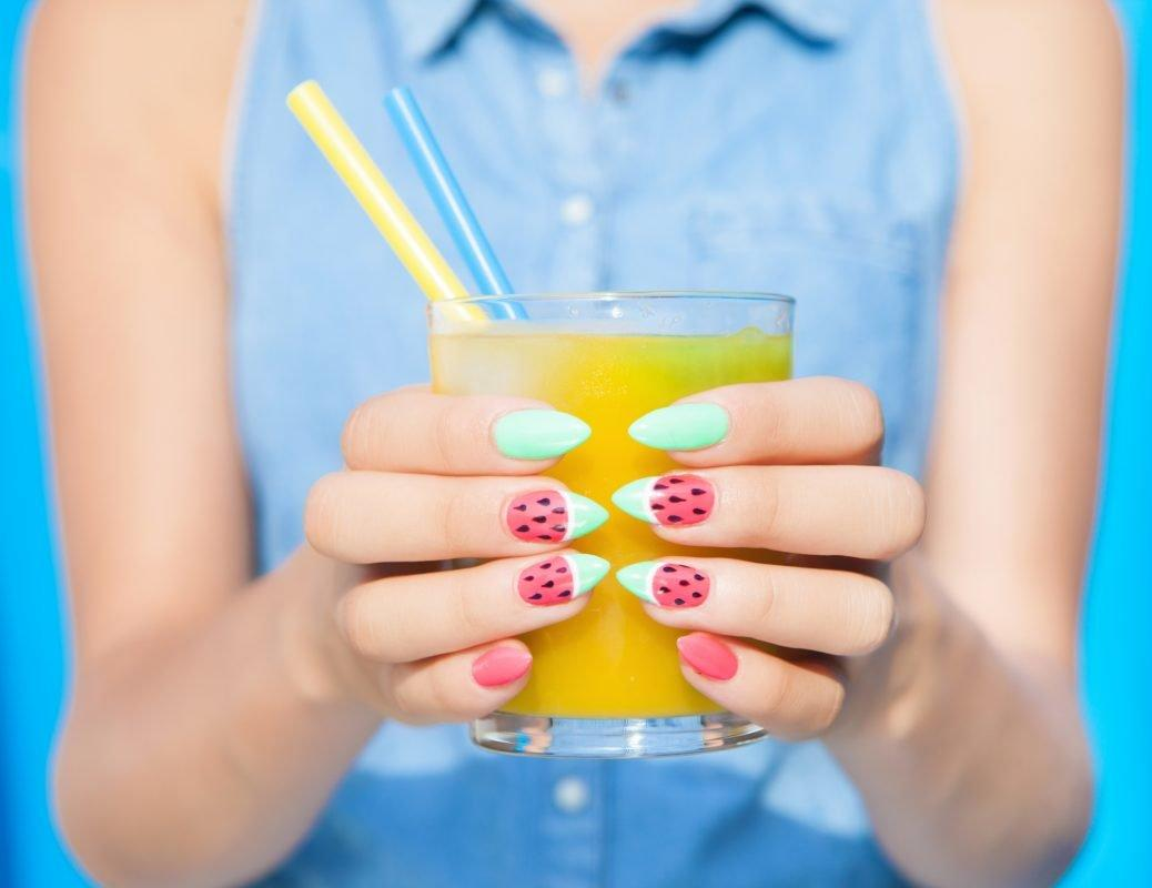 Watermelon nails are the refreshingly fruity mani you need to try before summer ends