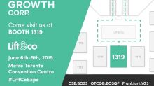 Yield Growth Announces Platinum Partnership for the June 2019 Lift & Co. Cannabis Conference