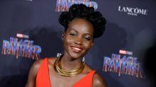 Lupita Nyong'o posing with her 'Black Panther' emoji will make you :-)