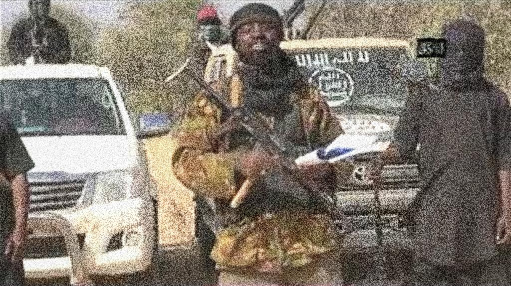 A screen grab made on January 20, 2015 from a video of Nigerian Islamist extremist group Boko Haram obtained by AFP shows the leader of the Islamist extremist group Boko Haram Abubakar Shekau delivering a message (AFP Photo/)