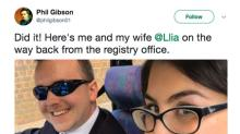 This Woman Asked for a Wedding Date Via Twitter and Married the Man Three Years Later