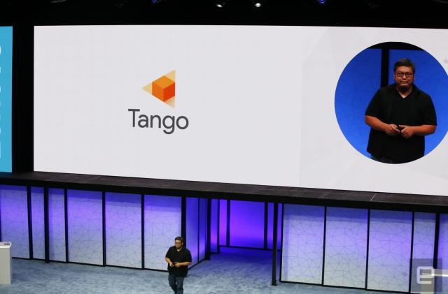 Google's Project Tango becomes just 'Tango'