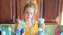 13-year-old dresses as 'tired mom' for Halloween and the internet is obsessed