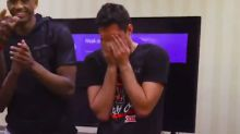 Texas Tech star surprised by family before Sweet 16