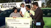 Elk Grove Teen With Perfect Attendance Gets New Car