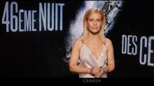 Dans la bande-annonce des César, Marina Foïs n'est pas aussi sérieuse qu'elle n'y parait