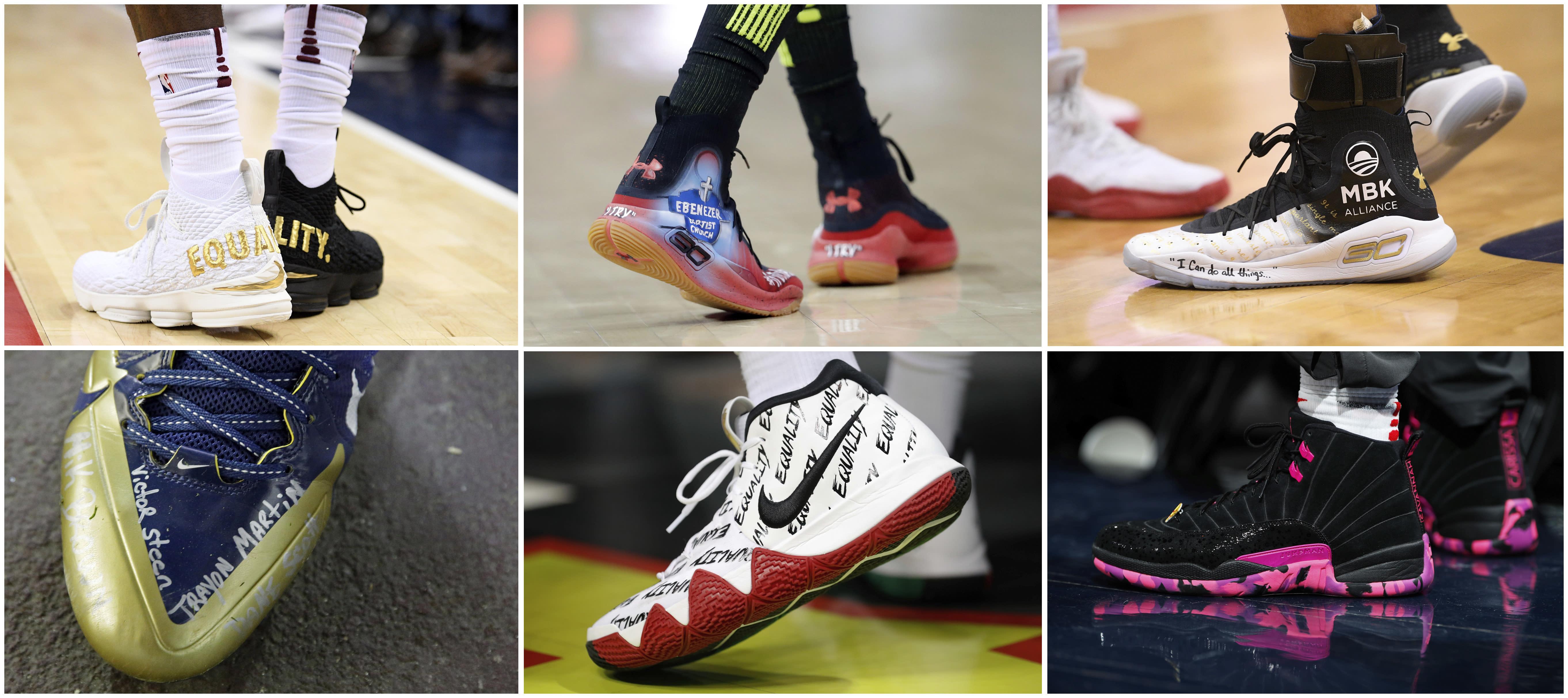082f01ad1 Nike s Kaepernick campaign signals change in shoe politics