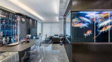 【設計變法】展示空間極致呈現 室內豪擺大魚池