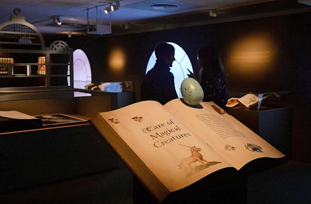 Visit the British Library's 'Harry Potter' exhibit from your sofa
