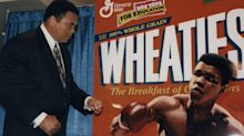 Wheaties revives cereal box iconography for centennial, taps Muhammad Ali