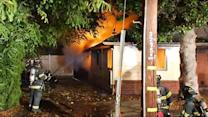 Two injured in two-alarm fire in San Jose