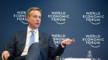 Aside from Trump limelight, Davos discreetly pushes peace talks