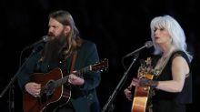 Chris Stapleton, Emmylou Harris perform tasteful Tom Petty tribute at Grammys
