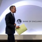 Markets see lower no-deal Brexit risk - Bank of England's Carney
