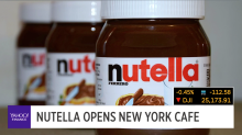 Nutella opens New York cafe