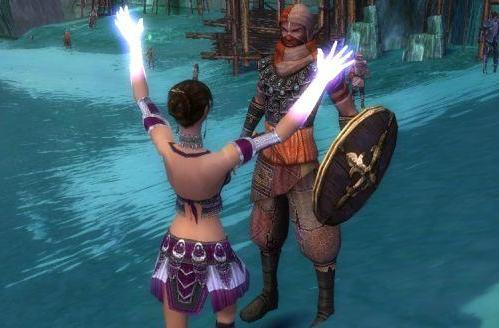 Personality in Guild Wars 2: NPCs will give you pie