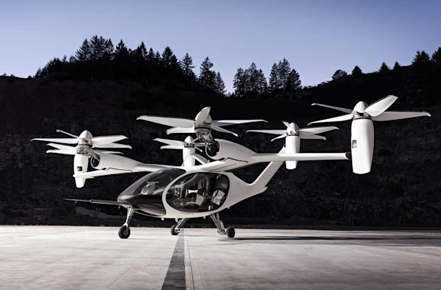 Toyota invests $394 million in flying taxi startup Joby Aviation