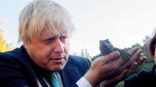 Boris Johnson dubbed 'blond British wombat' during visit to Australia