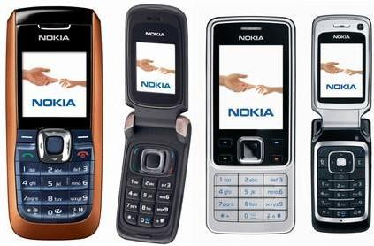 Nokia unveils four new handsets: the 2626, 6086, 6290, and 6300