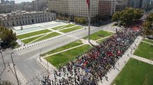 Chileans march to demand end to privatized pension system