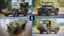 Estos seis vehículos militares se van a subastar el mismo día