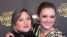 Billie Lourd Honors Those Having A Tough Mother's Day With Photo Of Carrie Fisher