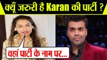 Payal Rohatgi reveals about Karan Johar Bollywood parties; Check Out