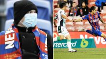 Concerning virus development after 2500 attend A-League game