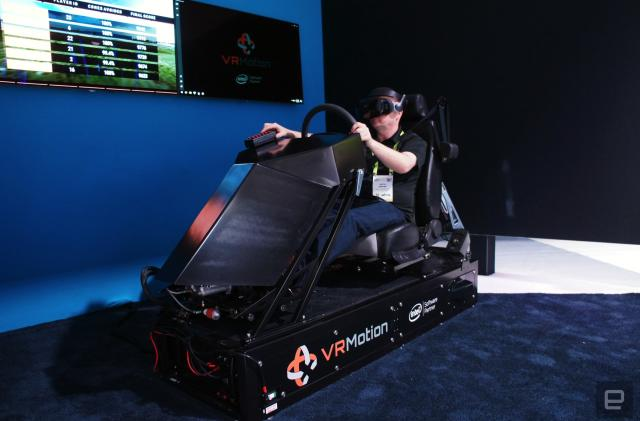 I learned how to drive in a VR traffic school
