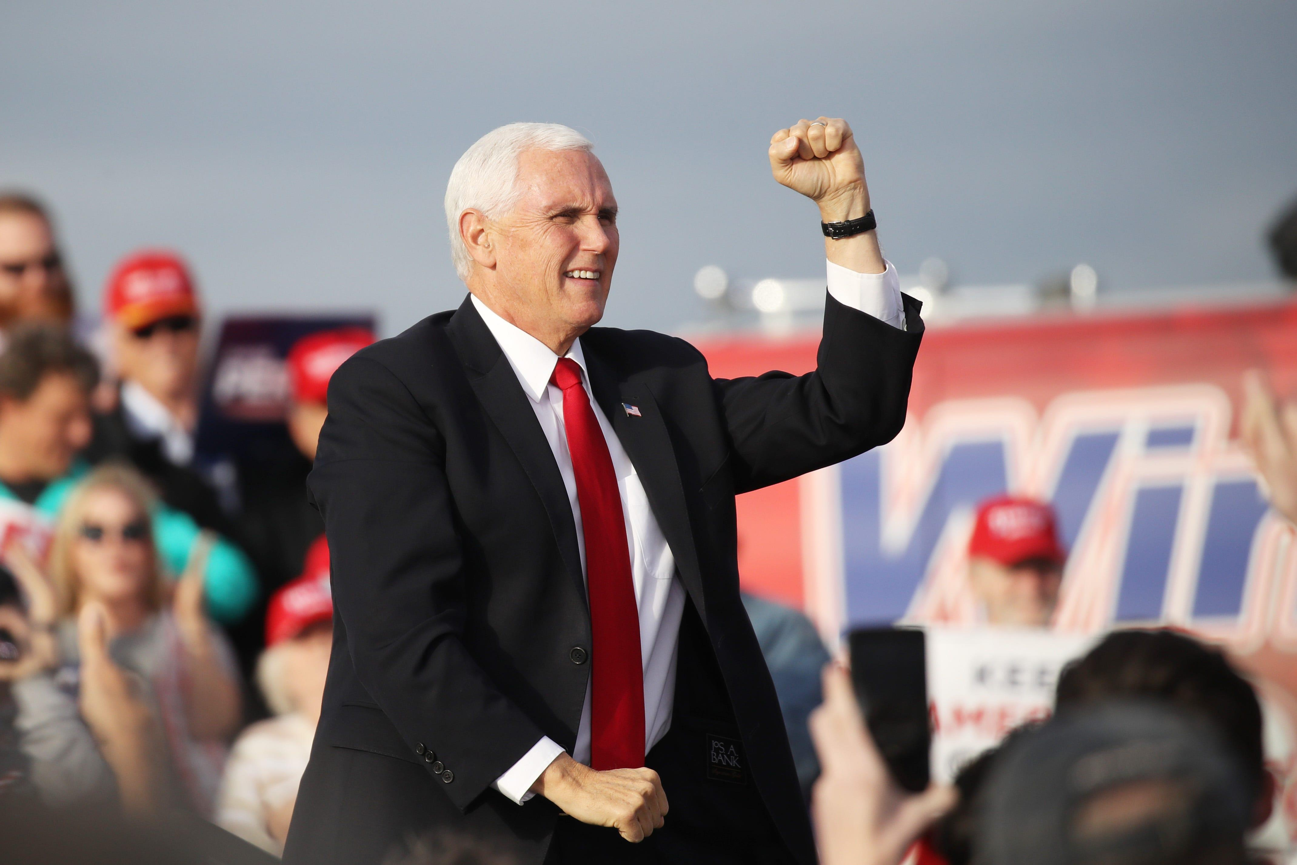 Former Vice President Mike Pence signs double book deal; first release is his autobiography