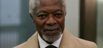 Kofi Annan, former UN Secretary-General, dies at 80