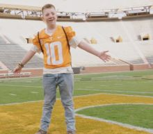 Keaton Jones Visits University of Tennessee Football Team as Reports Say His Dad Might Be a White Supremacist