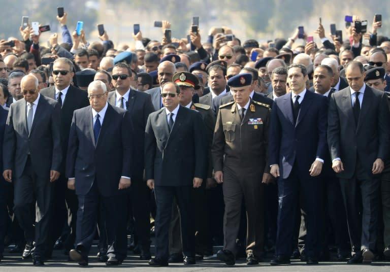 Egypt's ex-president Hosni Mubarak dead at 91 - family