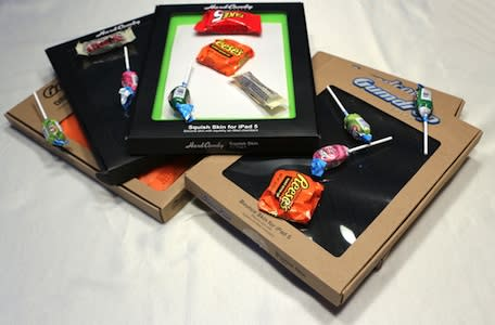 Trick or Treat! Hard Candy and Gumdrop cases for iPad Air