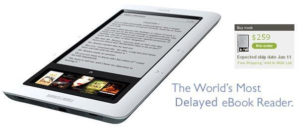Nook ship date slips to January 11th, supply chain managers weep
