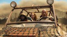 Dwayne Johnson, Kevin Hart face crazed ostriches in new 'Jumanji: The Next Level' trailer