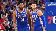 Simmons and Embiid in bizarre conspiracy theory as Sixers advance