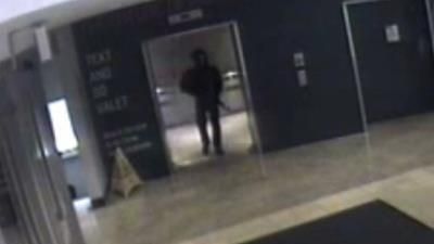 Gunman Seen in N.J. Mall Surveillance Video