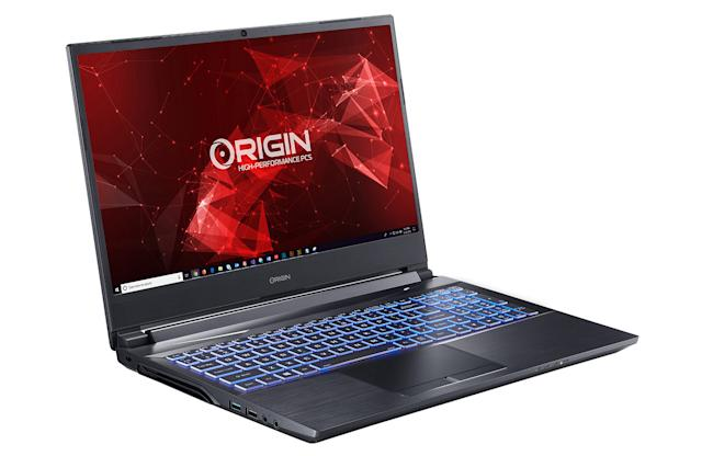 Origin's EON15-X laptop is powered by AMD's 12-core desktop Ryzen 9 CPU