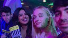 Newlyweds Joe Jonas & Sophie Turner Enjoy Double Date with Nick Jonas & Priyanka Chopra in NYC