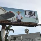 '9-1-1' Billboard Vandalized With Anti-Beto O'Rourke Message