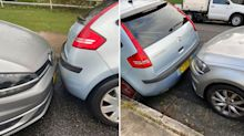 'Just stuck here': Citroen driver called out over 'selfish' park