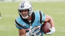 Panthers' McCaffrey back at practice after missing 5 games