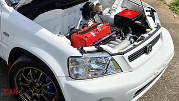 「檔檔紅線」沒問題!Honda CR-V MK1正宗「Type R」動力改