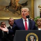 Trump commits new offence which could lead to impeachment in the middle of his own impeachment hearing